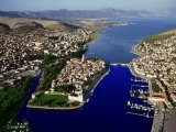 Trogir-view from the air